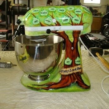 Cool-Painted-Kitchen-Aid-Mixer-Art20