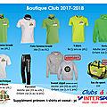 Boutique jsbb 2017-2018