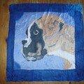 Peinture sur soie pour francis