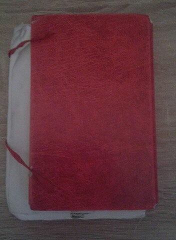 carnet rouge 1