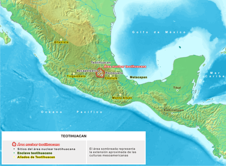 localisation Teotihuacan