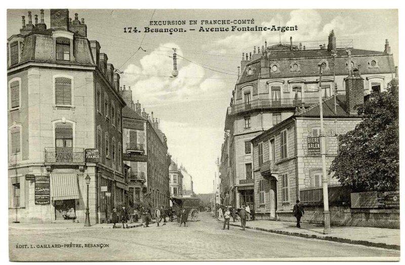 av fontaine argent 1912 1920