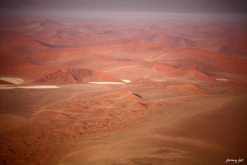 sossusvlei from hot air balloon