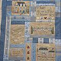 SAL Village de Montagne, façon patchwork : Martine 68