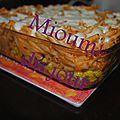 Gratin de macaroni au boeuf et au maïs & crème de tomates express en bonus