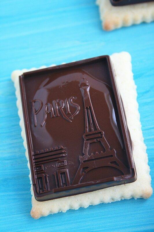 Petits-beurre et chocolat façon petit écolier 7