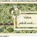 Mes sketches homemade : Cartes