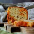 Cake au chorizo et au fromage de chèvre