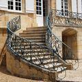 L'escalier du château