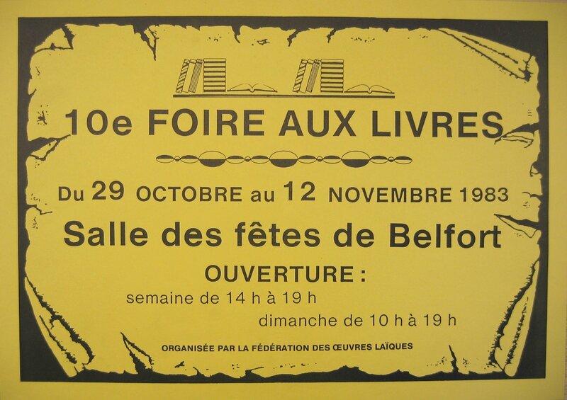 Foire aux livres 1983 Affiche IMG_16264