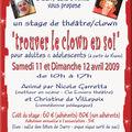 Stage clown et chants du monde
