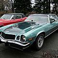 Chevrolet camaro lt sport coupe-1977