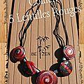 collier 5 lentilles rouges ter