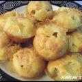 Muffins jambon & morbier