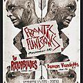 Vendredi 15/05 : frantic flintstones + razorblades + demon vendetta > soirée productions de l'impossible