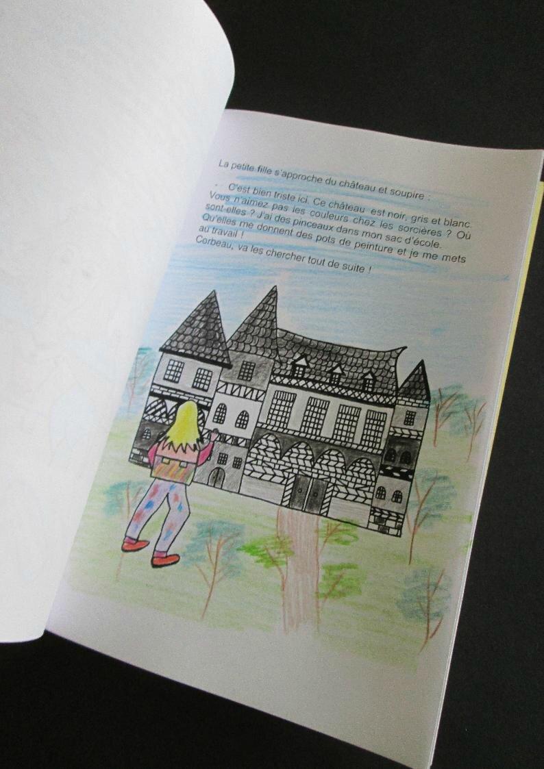 Une animation sur le thème des sorcières : atelier création d'un livre