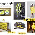 ♥ yellow !