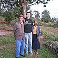 Avec des amis, Gaston et Gertrude