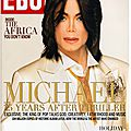 Michael 25 years after thriller - ebony, décembre 2007