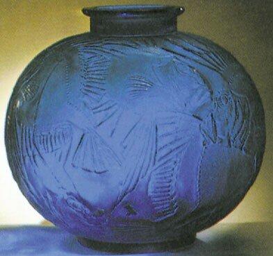 Vase - Poisson bleu