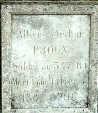PROUX Albert