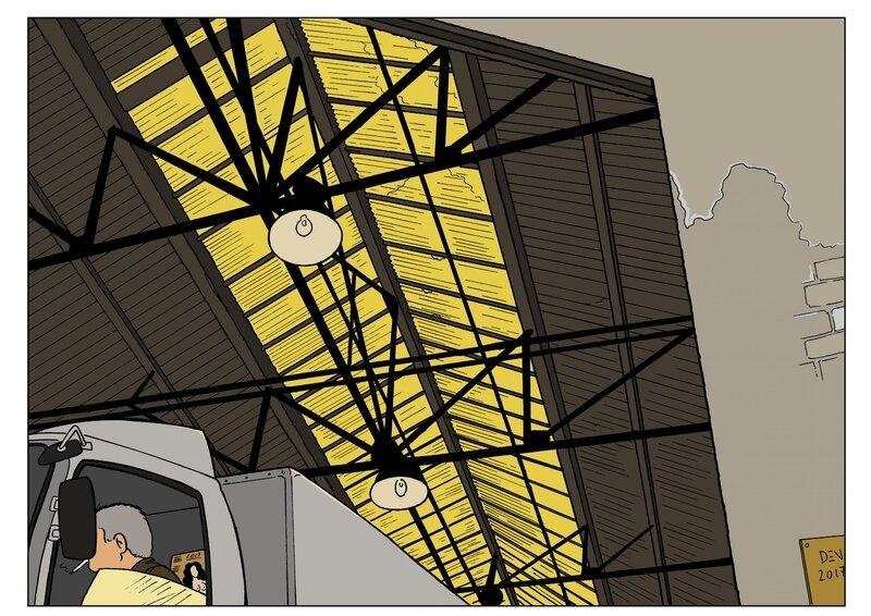 hangar couleur