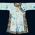 Robe, chine, xixe siècle