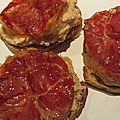 Tartine haricots blancs coppa