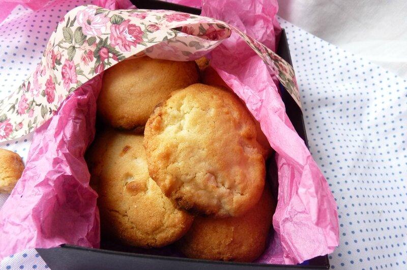 Cookies chocolat blanc/noix de macadamia