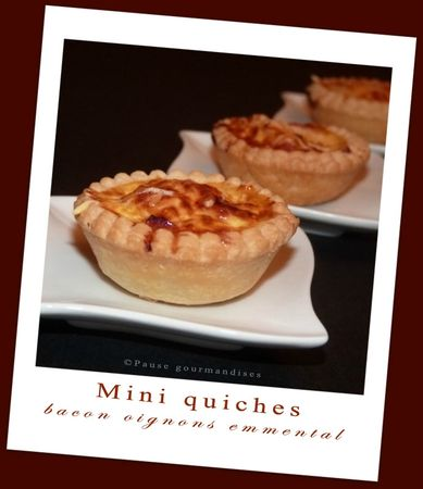 Mini quiches bacon oingons emmental (16)