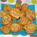 palmitos ,fromage rp,lardons .....