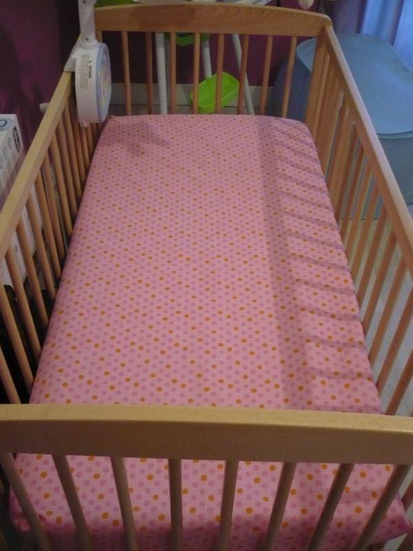 drap housse lit bébé Drap Housse pour lit bébé   Couture, tricot, beauté, scrap,astuces  drap housse lit bébé