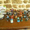 Pack skylanders xbox360 complet + figurines