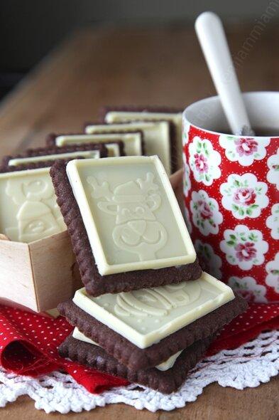 recette biscuit double chocolat facon petits ecoliers 001 LE MIAM MIAM BLOG