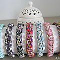 Bracelets macramé Lin et Liberty