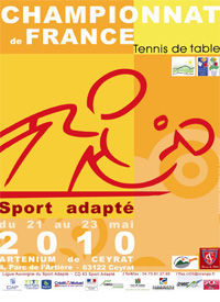 Championnat de france sport adapt de tennis de table - Championnat de france de tennis de table ...