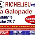 A richelieu, le 7 mai, on galope !
