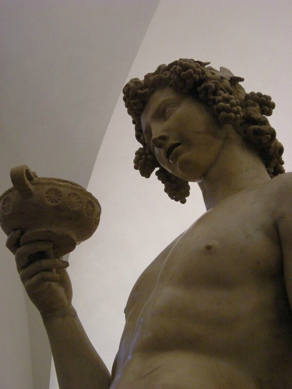 Michel-Ange Bacchus Florence Bargello