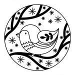 tampon-rond-oiseau-artemio