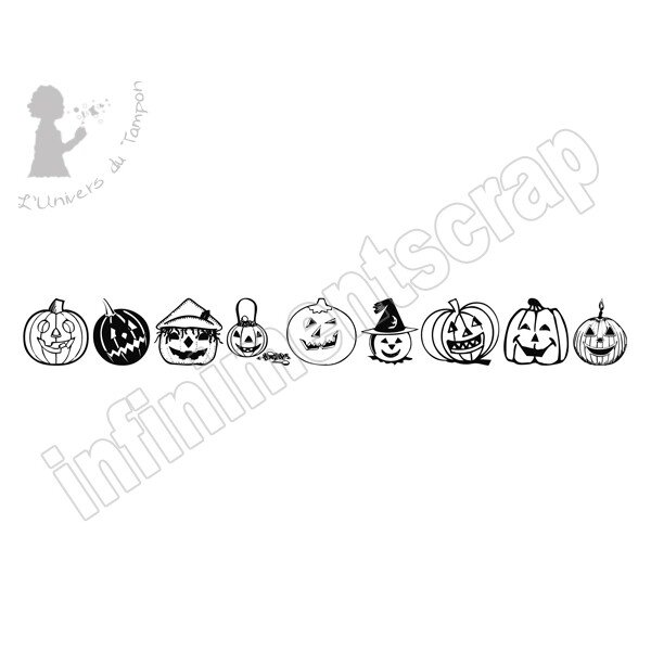 BORDURE HALLOWEEN