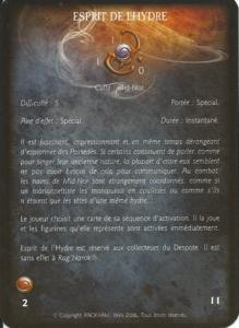 Collecteur de despote 02 - Esprit de l'hydre (miracle)