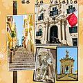 les rues de la Valette