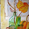 Automne - aquarelle -
