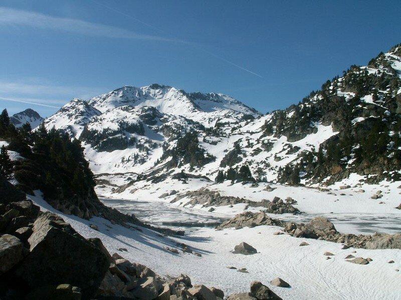 Fin Lac de Gréziolles 2110 m