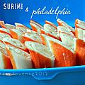 Finger food, street food... Ide 1 : les plumes de surimi { simplissime! }