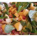 Nouveau partenariat et salade ethiquable à l'huile de noix d'amazonie