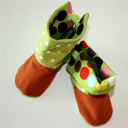 patron couture botte bebe