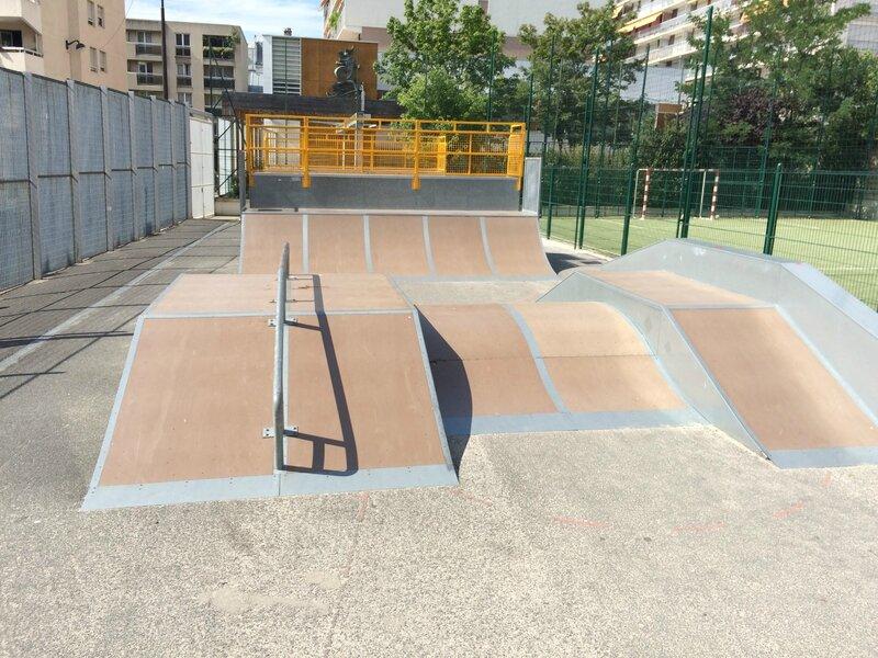 Skatepark Paris 11 - TEP EMILE LEPEU 02