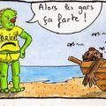 hortefeu à la plage