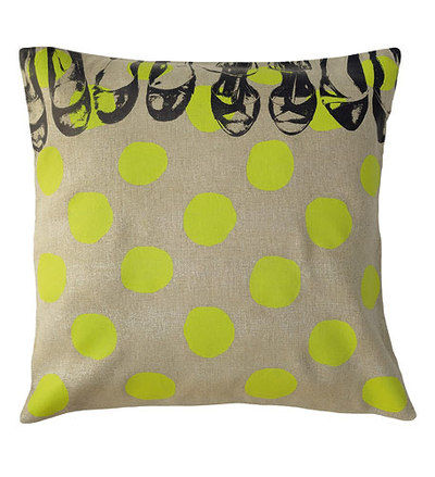 coussin_50_pois_shoes_vert